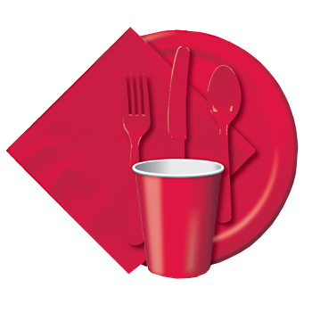 red party ware
